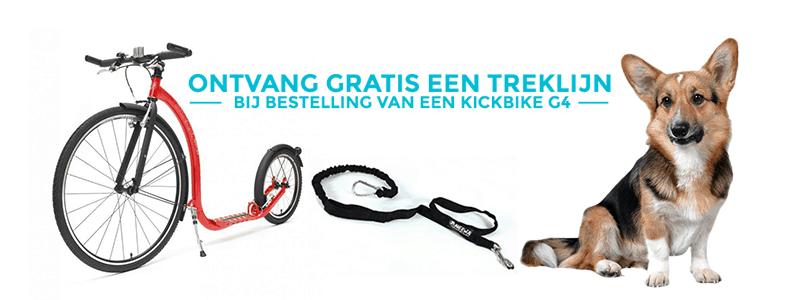Gratis treklijn bij Kickbike G4